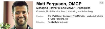Matt ferguson careerbuilder wedding