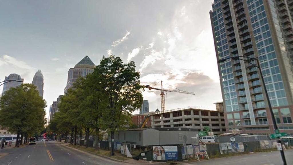 BREAKING: Big plans forming for North Tryon side of Uptown's Skyhouse site (see renderings)