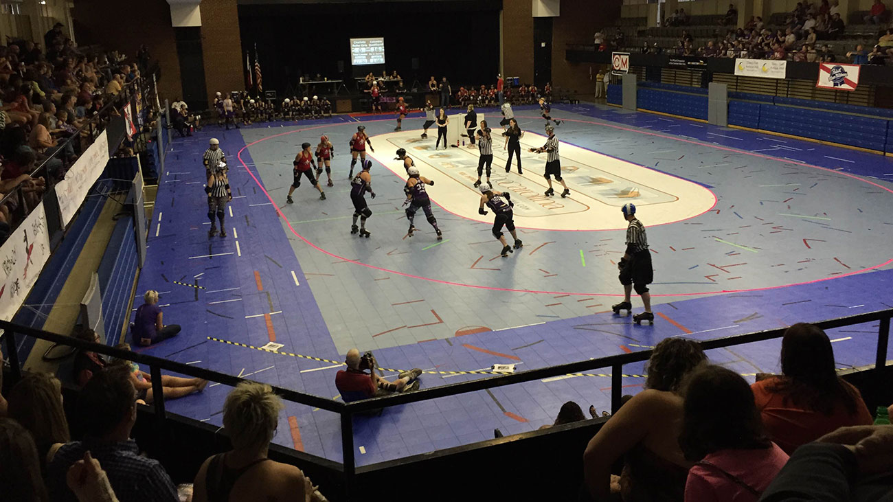 5 things to know about the Charlotte Roller Girls and roller derby