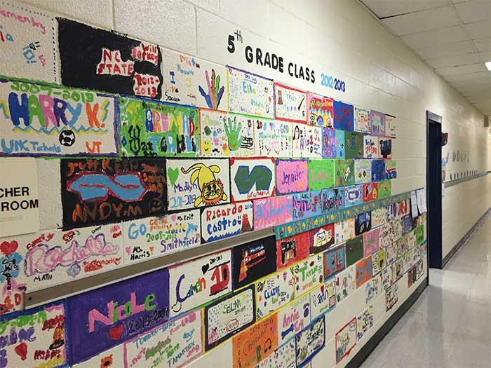 school-wall