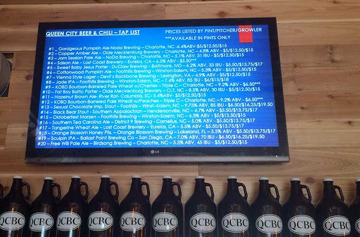 tap-list-at-queen-city-beer-and-chili
