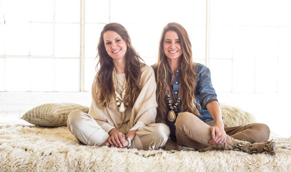 Behind the scenes with the sister duo of local jewelry company Twine & Twig