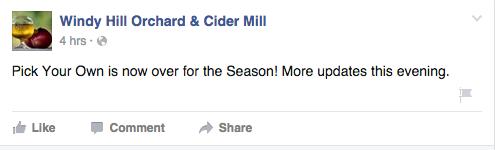 Windy Hill Facebook