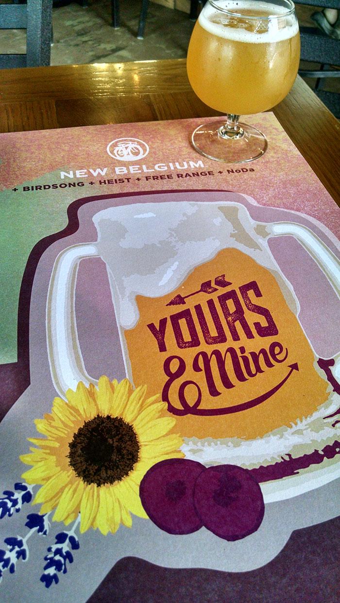 Yours & Mine Beer