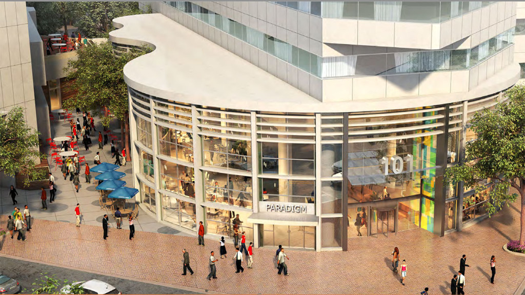BREAKING: 101 North Tryon is now marketing street-level retail space
