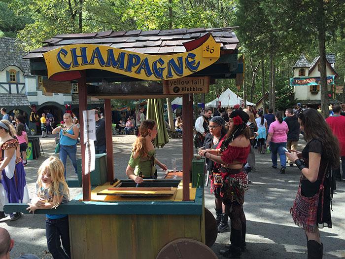 Champagne-Cart-Renaissance-Festival