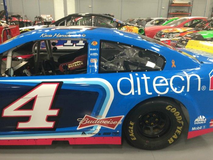 NASCAR No. 4 Harvick