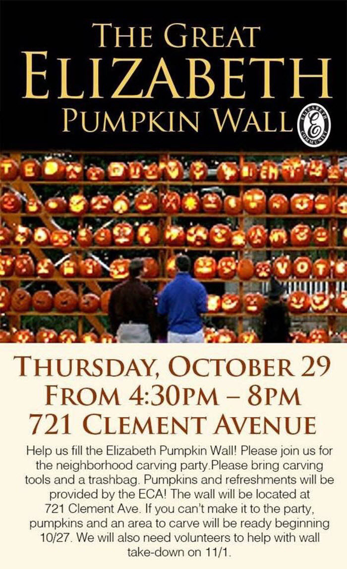 Elizabeth Pumpkin Wall Flyer