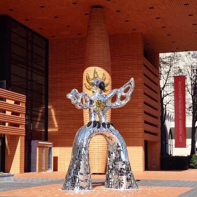 Firebird statue