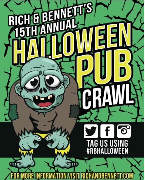 charlotte halloween pub crawl