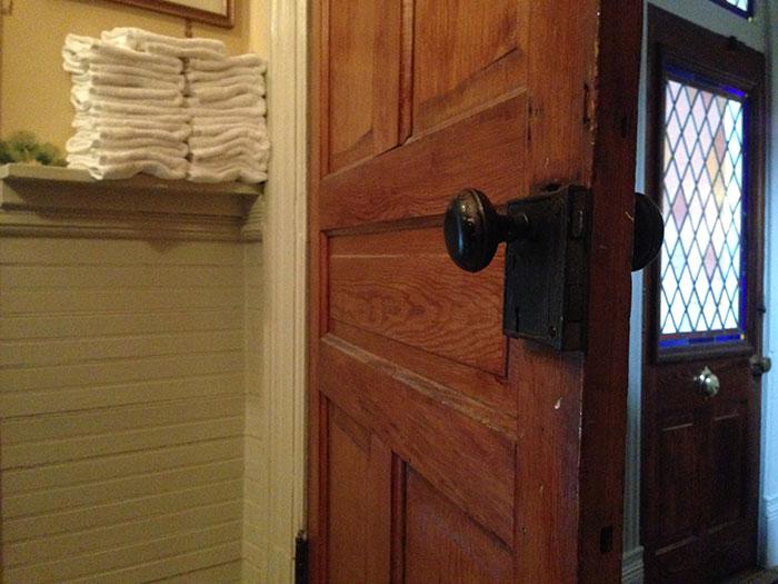 old door knob
