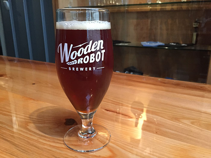 Wooden Robot Sweet Tater Pie Red Ale