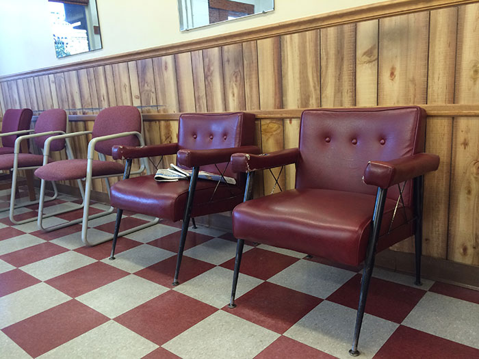Indian Trail Barber shop chairs