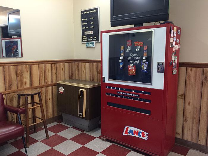 Barber Shop vending machine