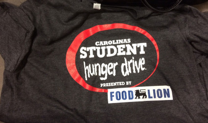Charlotte-area students compete to collect food for the Carolinas Student Hunger...