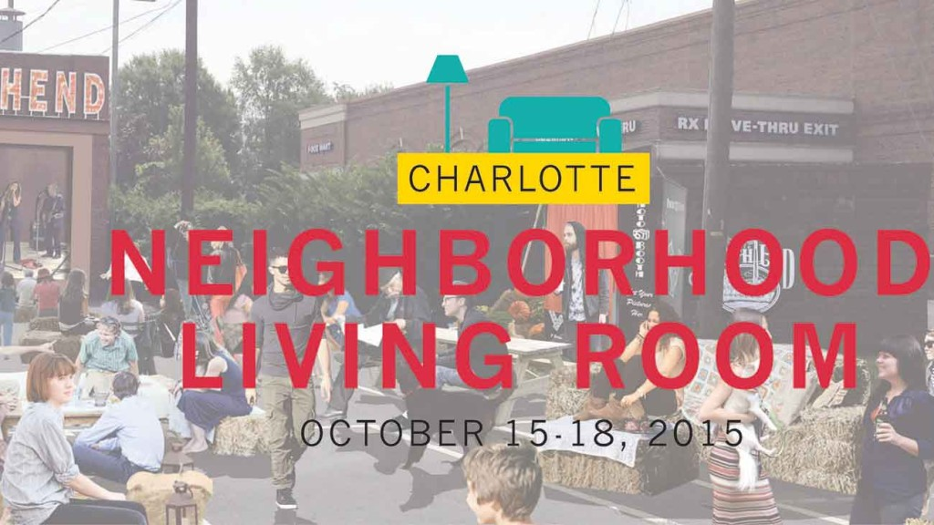 Neighborhood Living Room coming to South End on Thursday October 15. Here's how to use it.