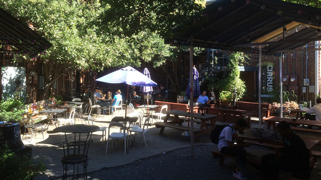 What makes Common Market's courtyard so great