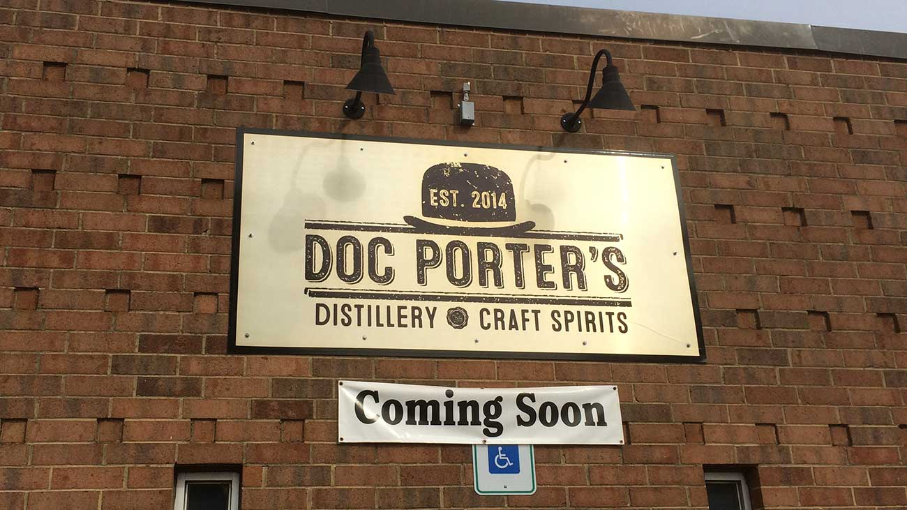 INSIDER: Doc Porter's Distillery will open November 6. View tour information