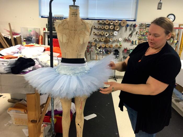 Charlotte Ballet costumes