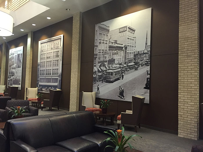 The historic ivey 39 s building uptown is being turned into a for Charlotte nc boutique hotels