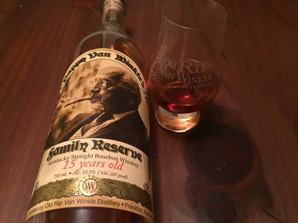 The rarest Pappy Van Winkle bottles sold out in two minutes