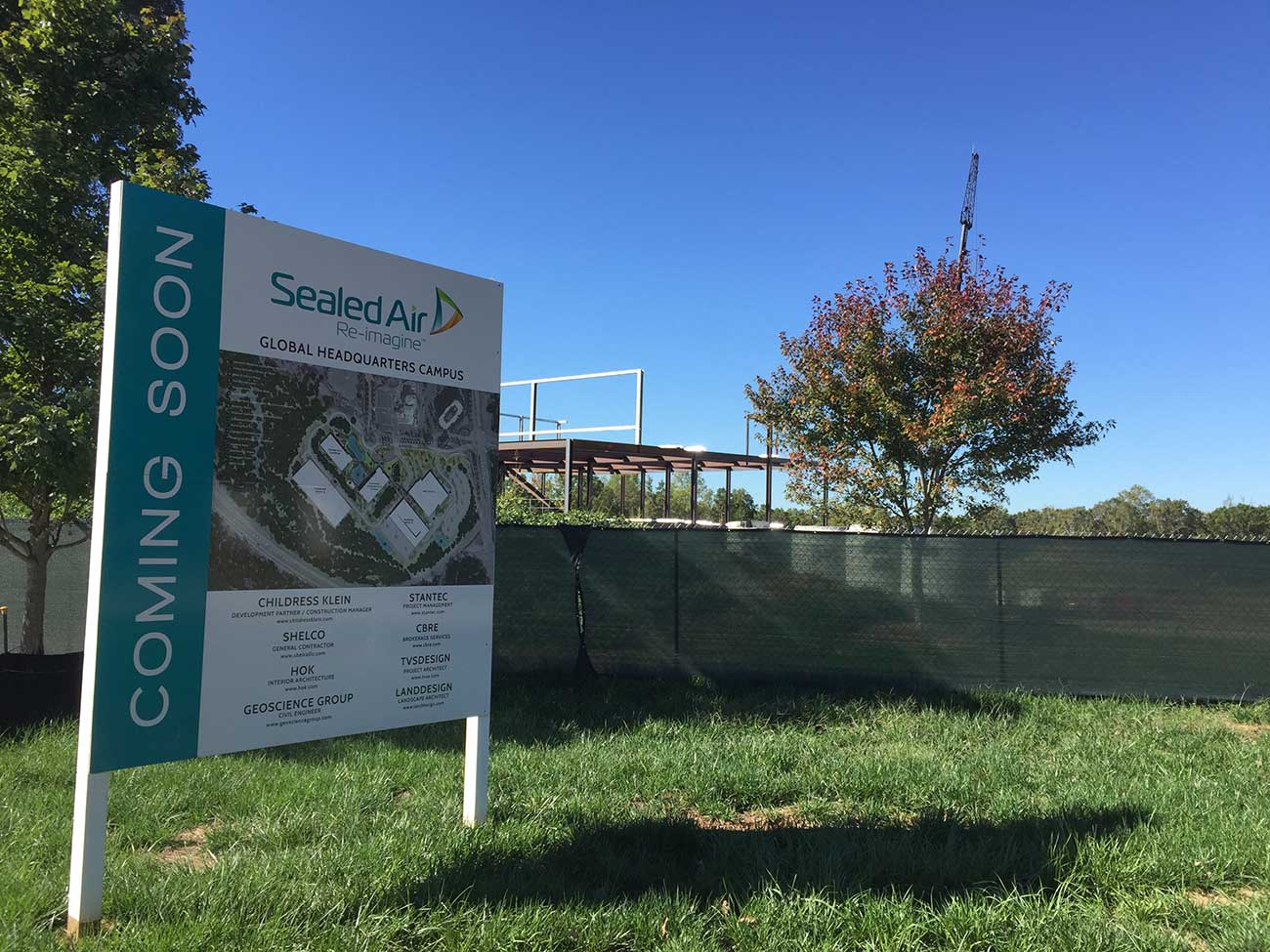 Sealed Air is at 400+ employees in Charlotte. See how the new HQ is progressing