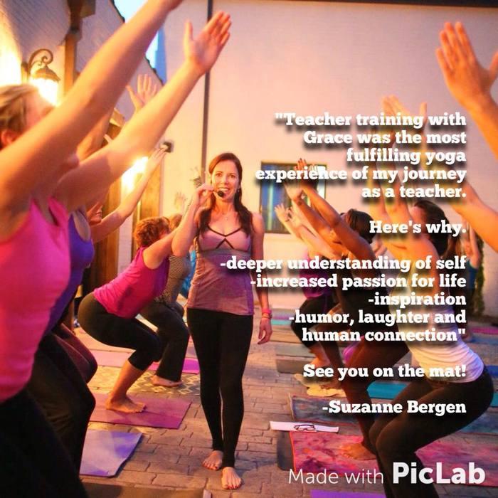 Yoga teacher training with Grace Morales
