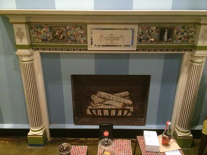 amelie's-fake-fireplace