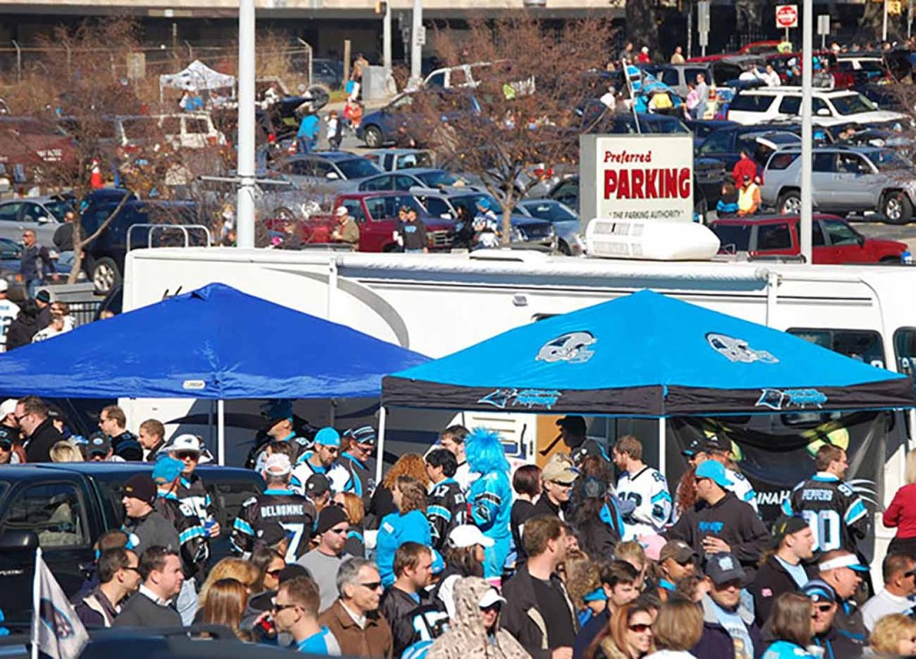 A beginner's guide to Panthers tailgating: the map, the food, the rules