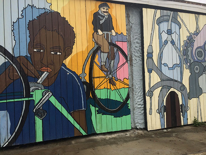 Recyclery-Bicycle-Mural