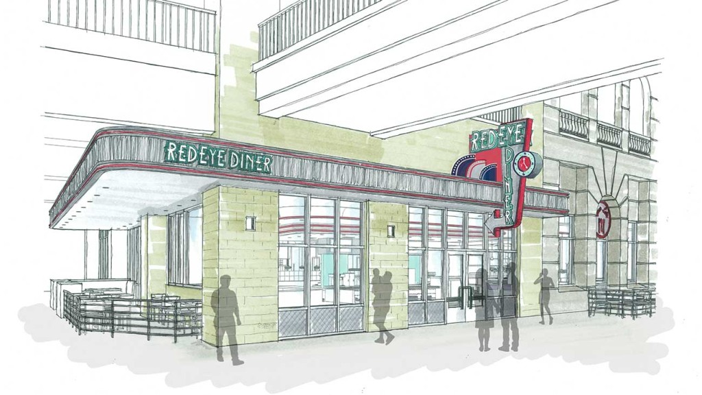 Update: RedEye Diner is coming to the EpiCentre to feed you