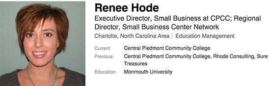 Renee-Hode-cpcc-charlotte-startups