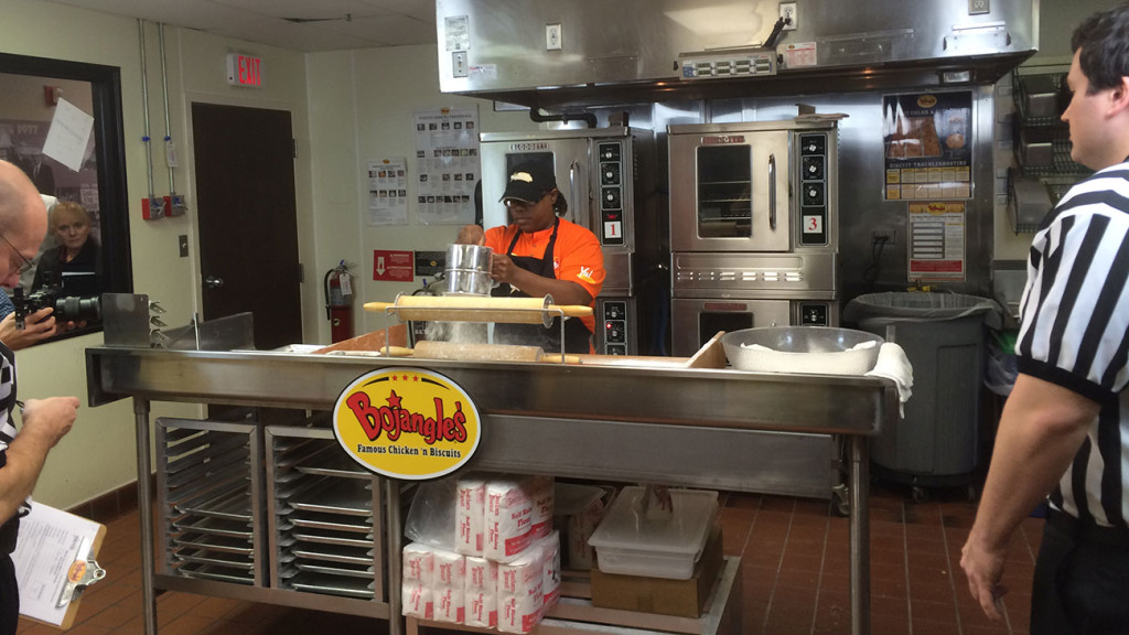 Everything you missed at yesterday's Bojangles' Master Biscuit Making Challenge