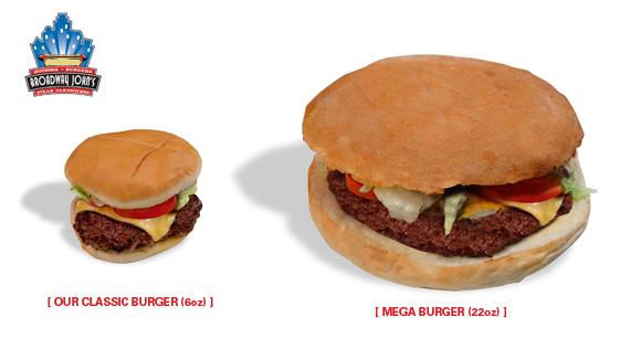 Broadway Mega Burger