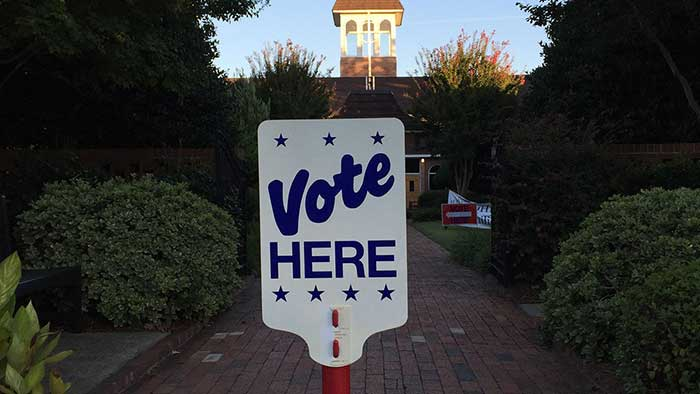 charlotte-vote-here-sign