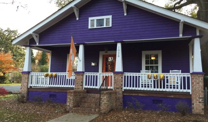 The story behind that funky 'Clemson House' in NoDa
