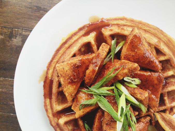 Fern waffles