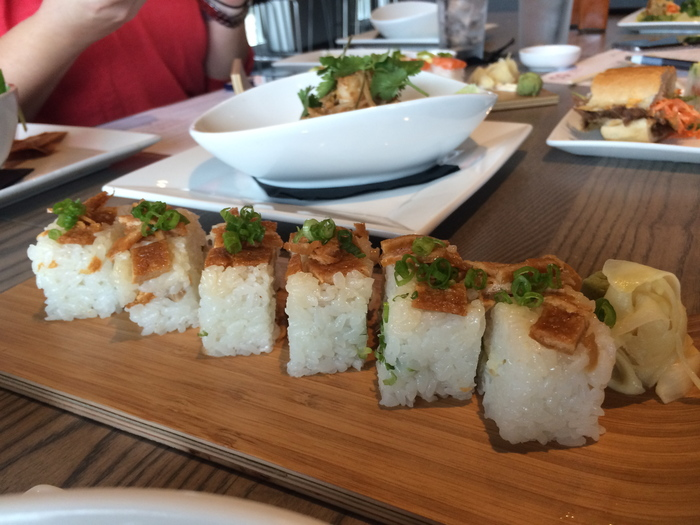 CO pressed sushi