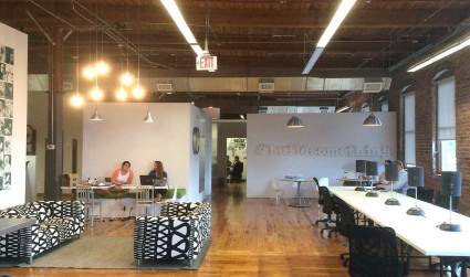 Complete list, pricing and map of Charlotte's 11 coworking spaces