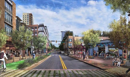 The future of North Tryon looks bright