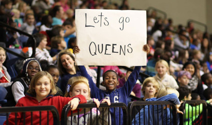 Queens University basketball is Charlotte's team