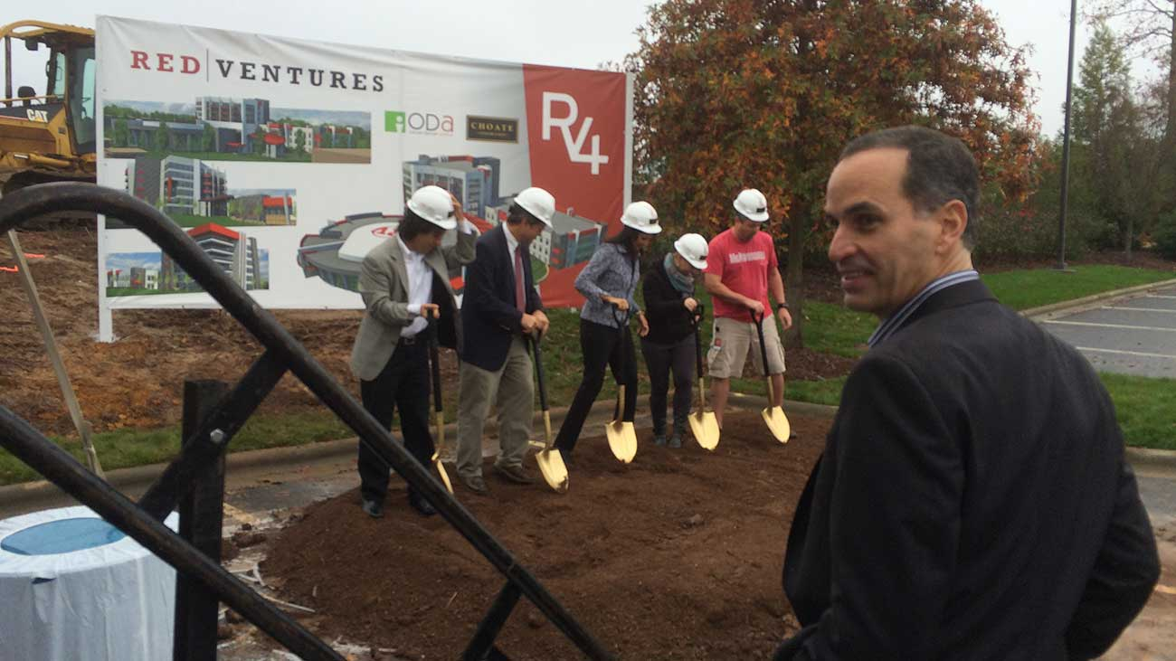Everything you missed at Red Ventures' announcement regarding their massive new campus, RV4