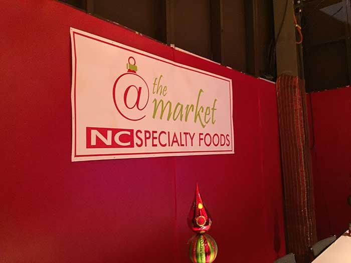 southern christmas show nc food