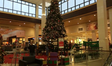 City Smart: Santa glacier removed from SouthPark Mall to paid patriotism's...