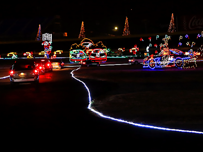 Refreshed Christmas Lights In Charlotte That Would Even