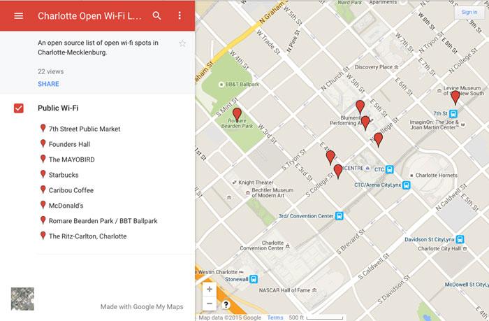 WiFi-Map