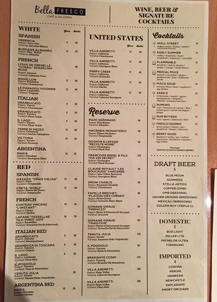 bella-frisco-wine-cocktail-menu