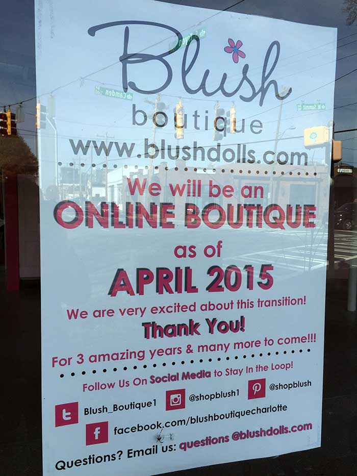 blush-south-end-sign