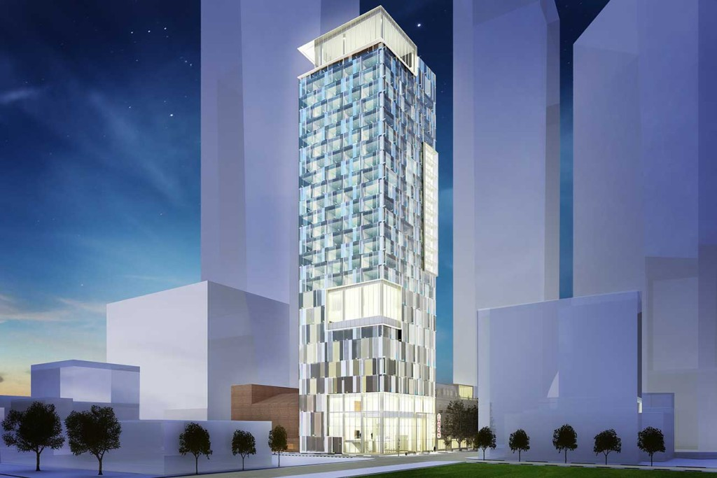 There's going to be a 20-story luxury hotel atop the Carolina Theatre