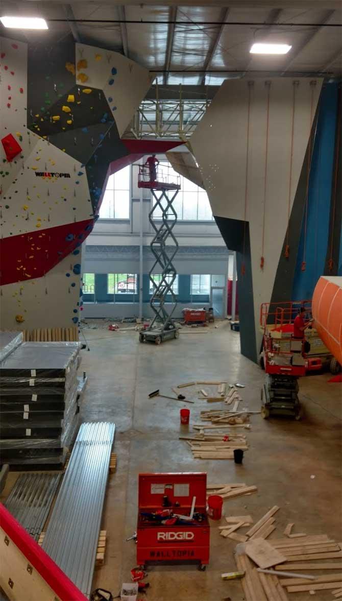 climbing-wall-construction